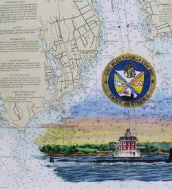 USS Alexandria SSN 757 Original Painting Submarine