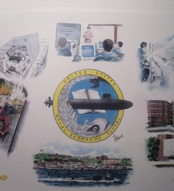 Submarine School New London Painting by Daniel Price