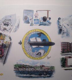 Submarine School New London Painting by Daniel Price