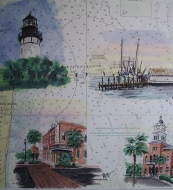 Amelia Island Florida Painting by Daniel Price
