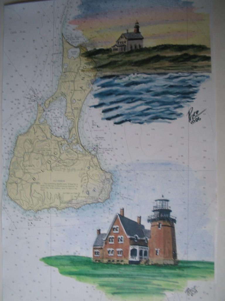 Block Island Painting by Dan Price
